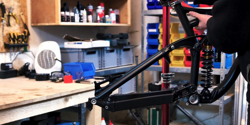 Radon Swoop 210 Downhill Bikebuild Projekt 2019 powerd by Biking is awesome