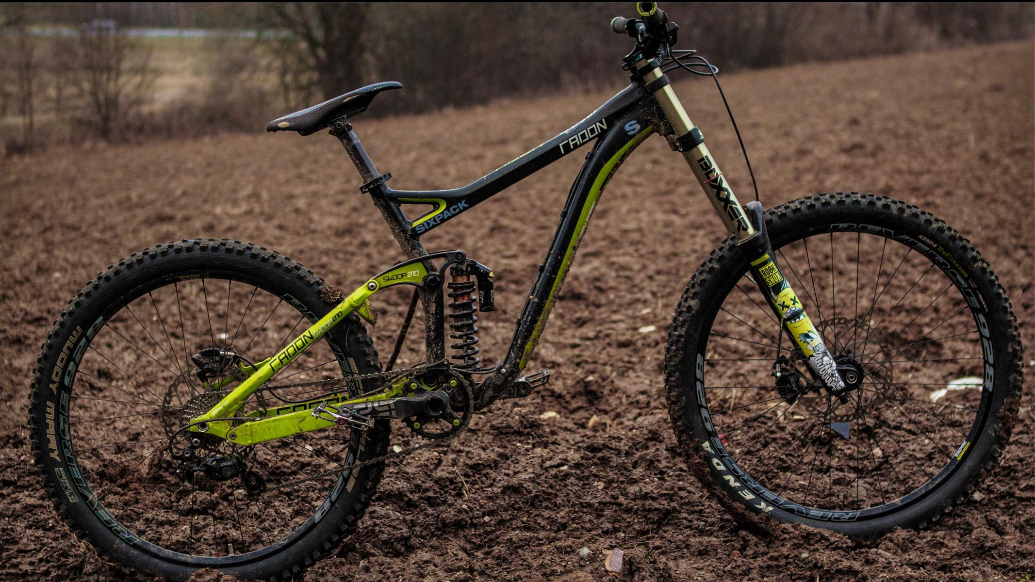 Radon swoop 210 Downhillbike